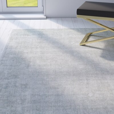 Kingston Ice Area Rug Rug Size: 8 x 11