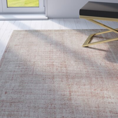 Kingston Brown Rug Rug Size: 36 x 56