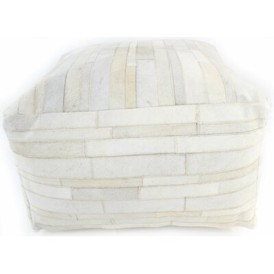 Cadencia Pouf Ottoman Upholstery: Ivory