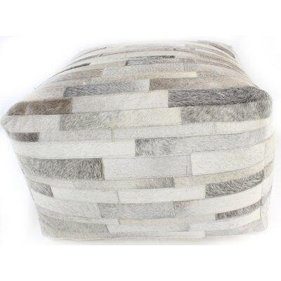 Cadencia Pouf Ottoman Upholstery: Gray