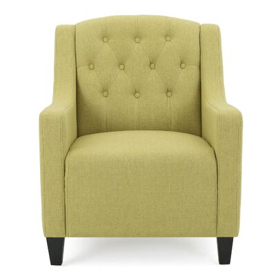 Decker Armchair Upholstery: Green