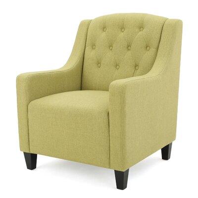 Decker Armchair Upholstery: Green