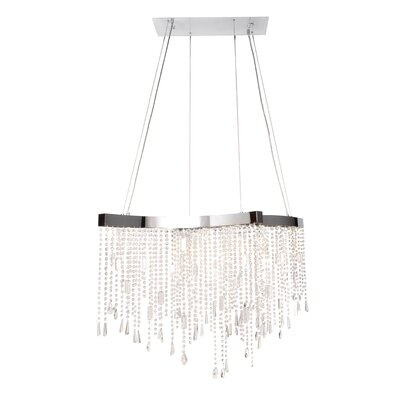 Hayle Crystal Sensation LED 14-Light Crystal Pendant