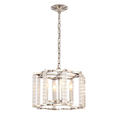 Diahann 4-Light Mini Chandelier