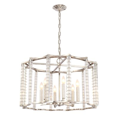 Diahann 6-Light Candle-Style Chandelier