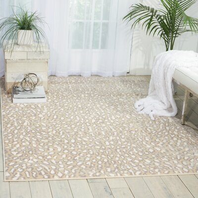 Brady Almond Area Rug Rug Size: Rectangle 311 x 53