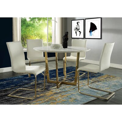 Natanael 5 Piece Dining Set