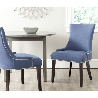 Carraway 36.4'' Side Chair Upholstery: Fabric - Royal Blue