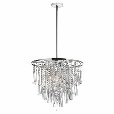 Deverel 8-Light Metal Pendant