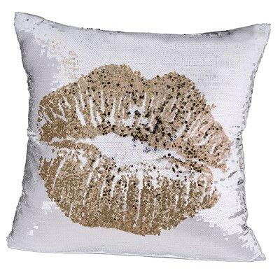 Tarcienne Simple Kiss Velvet Throw Pillow