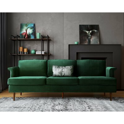 Teignmouth Sofa Upholstery: Forest Green