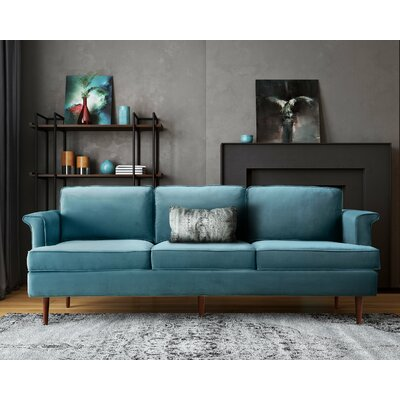 Hillam Sofa Upholstery: Sea Blue