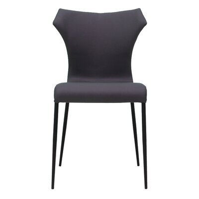 Daventry Side Chair Finish: Gray/Black