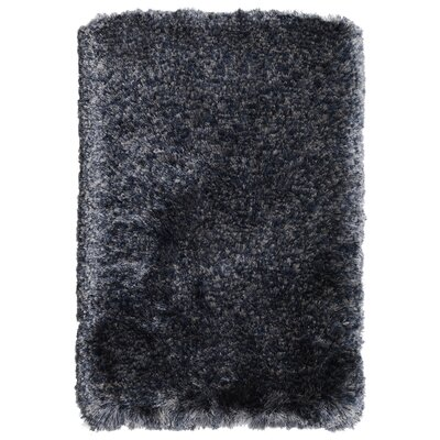 Olivine Hand-Woven Navy Area Rug Rug Size: 2 x 3