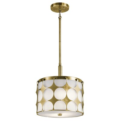 Christopherson 2-Light Drum Pendant