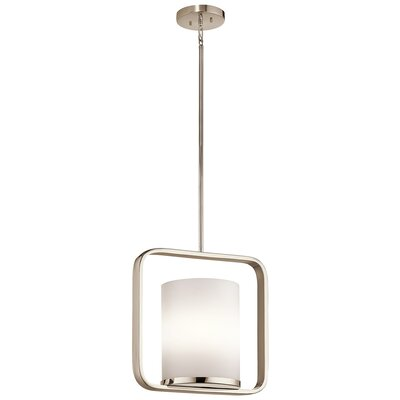 Cheetham 1-Light Mini Pendant Finish: Polished Nickel