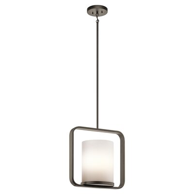 Cheetham 1-Light Mini Pendant Finish: Olde Bronze