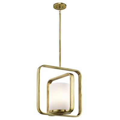 Padmore 1-Light Pendant Finish: Natural Brass