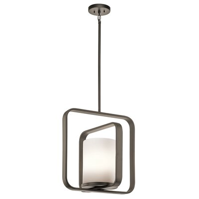 Cheetham 1-Light Pendant Finish: Olde Bronze
