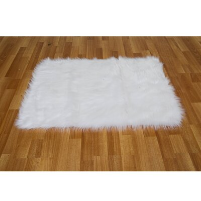 Chantay White Area Rug