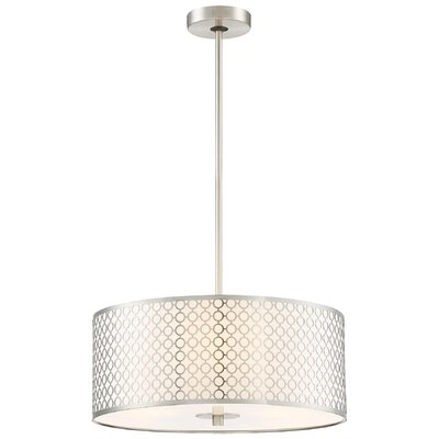 Fayme 3-Light Drum Pendant