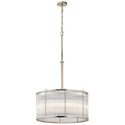 Glenavy 5-Light Drum Pendant
