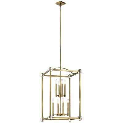 Cargin 8-Light Foyer Pendant