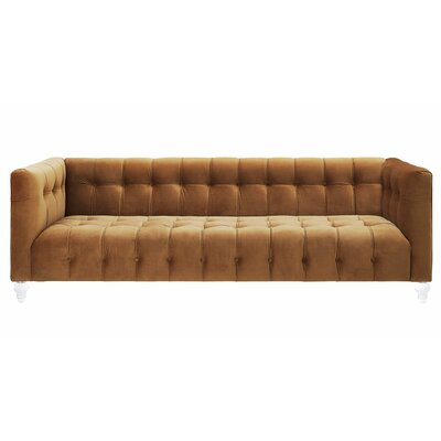 Pernilla Velvet Chesterfield Sofa