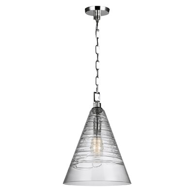 Carnaff 1-Light Mini Pendant Finish: Chrome