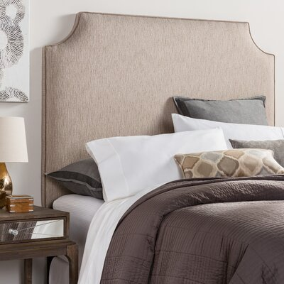 Rosalie Velvet Corded Upholstered Headboard Size: Full