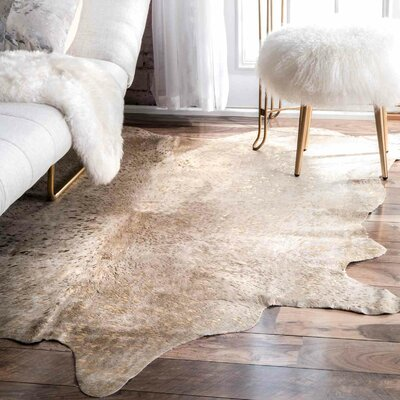 Paddington Hand-Woven Gold Area Rug