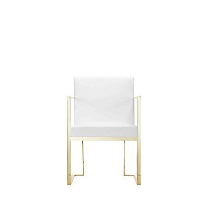 Espinoza Arm Chair Upholstery: White