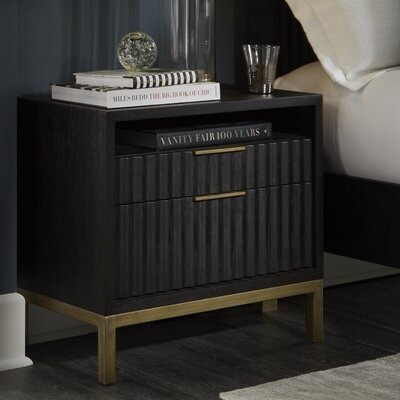 Holford 2 Drawer Nightstand