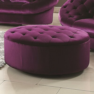 Hollands Ottoman Upholstery: Purple