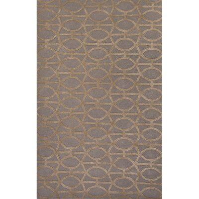 Avery Gray & Taupe Geometric Area Rug Rug Size: 2 x 3
