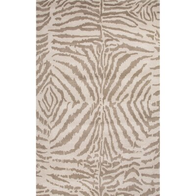 Benoit Gray & Ivory Animal Print Area Rug II Rug Size: 5 x 8