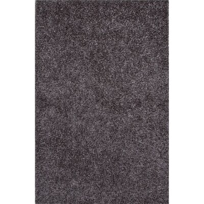 Woodside Hand-Woven Gray Area Rug Rug Size: Rectangle 36 x 56