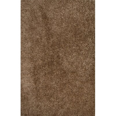 Woodside Taupe/Tan Solid Area Rug Rug Size: 2 x 3