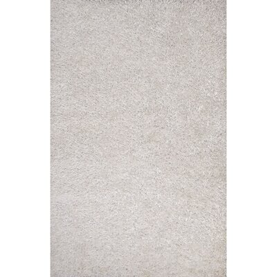 Woodside Gray Solid Area Rug Rug Size: Rectangle 36 x 56