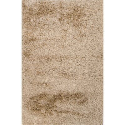 Chalfont Taupe/Tan Solid Area Rug Rug Size: 4 x 6
