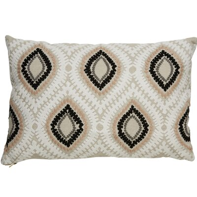 Brightwood Modern Tribal Pattern Rectangular Linen Throw Pillow