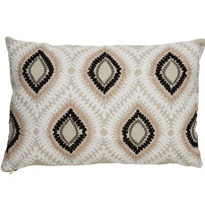 Brightwood Modern Tribal Pattern Rectangular Linen Throw Pillow