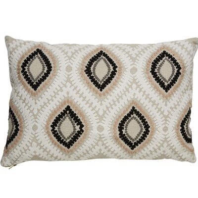 Brightwood Modern Removable Tribal Pattern Rectangular Linen Throw Pillow