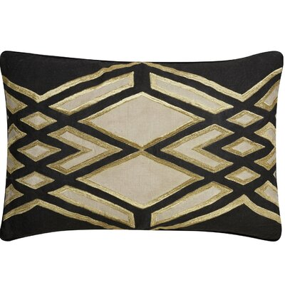 Brightwood Tribal Pattern Rectangular Linen Throw Pillow