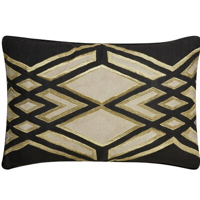 Brightwood Removable Tribal Pattern Rectangular Linen Throw Pillow