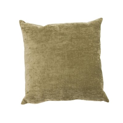Capucina Solid Rectangular Throw Pillow Color: Olive