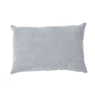 Barnesbury Solid Lumbar Pillow Color: Grey