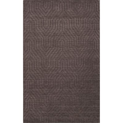 Greenford Wool Solids/Handloom Gargoyle Area Rug Rug Size: 8 x 11