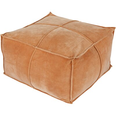Calista Pouf Upholstery: Rust