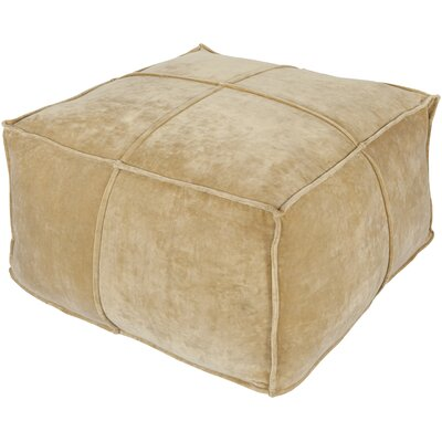 Calista Pouf Upholstery: Gold